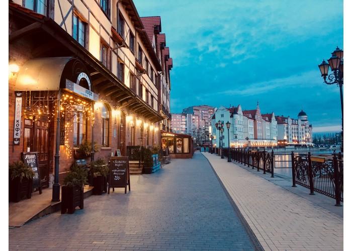 Экскурсия «Огни Калининграда+угощение глинтвейном и марципаном», на 4 часа.