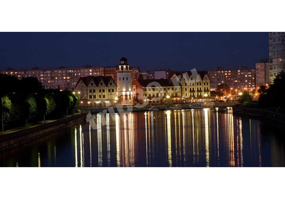 Вечерний Калининград с прогулкой на катере и посещением баварского ресторана, 6 часов
