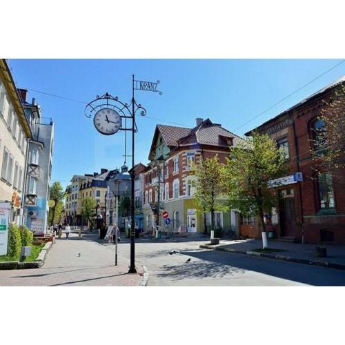 Пешеходная экскурсия по Зеленоградску
