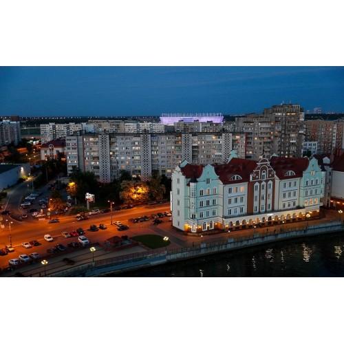Вечерний Калининград с прогулкой на КАТЕРЕ по реке и ПОСЕЩЕНИЕМ БАВАРСКОГО РЕСТОРАНА