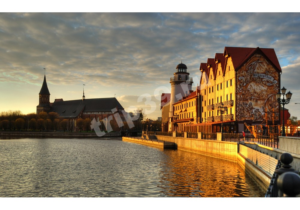 """Экскурсионный тур """"Сумерки Кёнигсберга"""" с музеем Фридландские ворота и ужином в баварском ресторане"""