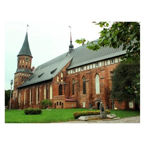 Кёнигсберг и Калининград — прошлое и настоящее + Музей янтаря и Музей марципанов